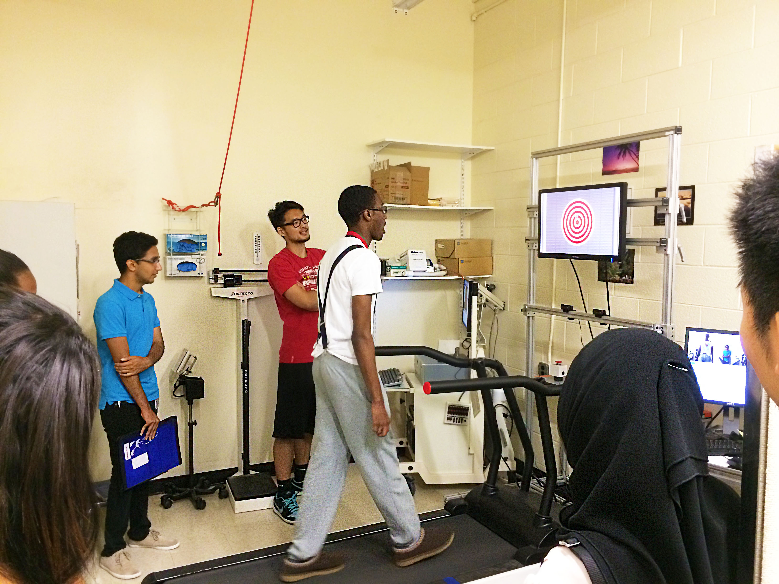 Neuroscience Interns Discover the Science of Excercise